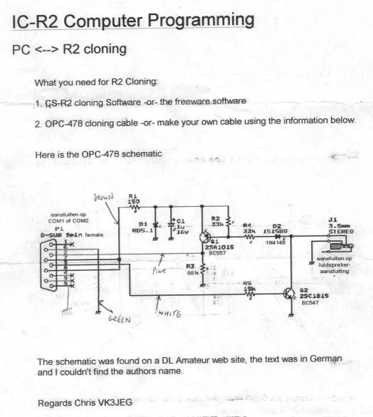 OPC-478 Opc U Schematic on